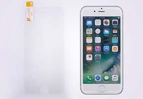 Tempered Glass White Edge Solution For iPhone 6/6+/6s/6s+/7/7+/8/8+/X