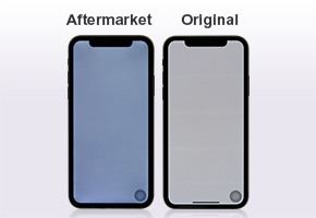 New Aftermarket iPhone X LCD Assembly BIZBEE Test Report about iPhone X Aftermarket Screen