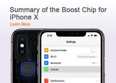 Summary of the Boost Chip for iPhone X No power on, no response to charging, no response to forced restart of the phone