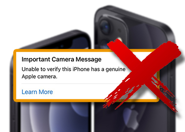 Solution for iPhone 12 Series Non-Genuine Camera Warning/Important Camera Message Suitable for iPhone 12, 12 Pro, 12 Pro Max, and 12 mini