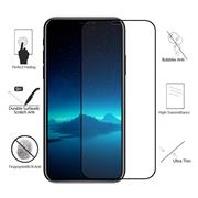 For iPhone X 2.5D Arc Edge Full-Screen HD Silk Screen Front Tempered Glass Film With Color Carton With Package