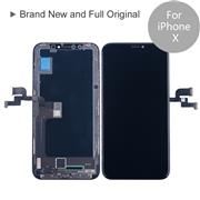 For Apple iPhone X Brand New and Full Original LCD Screen and Digitizer Display Assembly with Frame Repair Replacement