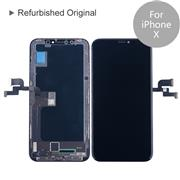 For Apple iPhone X Refurbished Original LCD Screen and Digitizer Display Assembly with Frame Repair Replacement