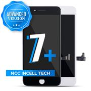 (Advanced Version)For Apple iPhone 7 plus NCC Incell LCD Screen and Digitizer Display Assembly with Frame Repair Replacement(In Cell)