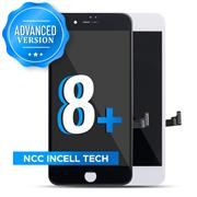 (Advanced Version)For Apple iPhone 8 Plus NCC Incell LCD Screen and Digitizer Display Assembly with Frame Repair Replacement(In Cell)