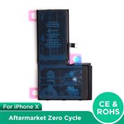 For Apple iPhone X Aftermarket Zero Cycle Battery with Logo