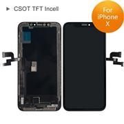 (Standard Version)For Apple iPhone X CSOT TFT Incell LCD Screen and Digitizer Display Assembly with Frame Repair Replacement