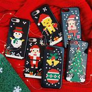 For Apple iPhone 11 Christmas Series Building Blocks With Package
